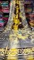 Hand Painted Linen Saree
