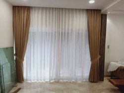 Main /sheer curtain  ready any size