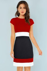 Plain Stitch Western Dress