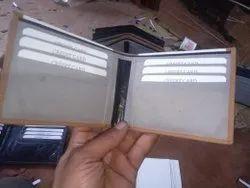 Black Men Leather Wallet