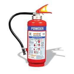 Metal alloy Class B and class C Dcp Type Fire Extinguisher, For Industrial, Capacity: 4Kg