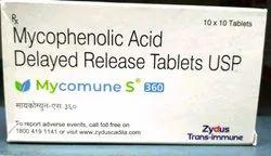 Mycomune S 360 Mg Tablets