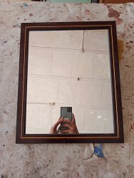 Fiber Coating Mirror Frame