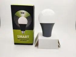 Escozor 10 Watt Motion Sensot Smart Bulb, Regular, Model Name/Number: MSB01