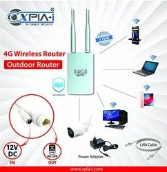 Xpia Wireless or Wi-Fi 4g Wifi Router With Sim Slot, 150mbps