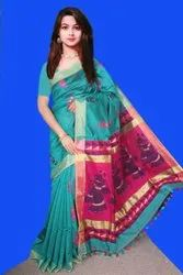 Exclusive Handloom Silk Weaving Jamdani Sarees