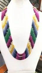 Rainbow Multicolor Gemstone Beads