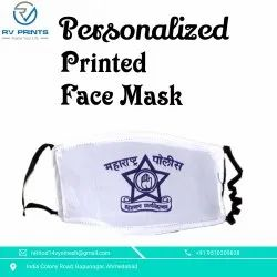 Reusable Printed Face Mask, Number of Layers: 2