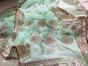 Original hand work saree