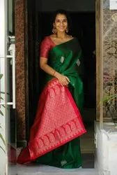 Cotton Silk Rich Pallu Jacquard Work ARJ