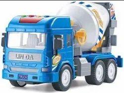 Plastic Kids crane Truck Toy