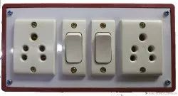 For Home PVC READY TO USE ELECTRIC SWITCH BOARD