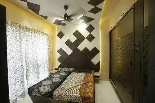 Bedroom Interior Design, Size: 15 X 15 15 X 15, Work Provided