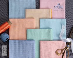 Cotton-Polyester CVC Dobbies Fabric