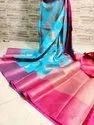 Banarasi Kora Muslin Organza Silk Sarees