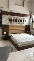PLY WOOD Modern Wooden Bed
