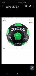 Cosco Football Thunder Size - 5