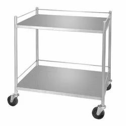 Stainless Steel Instrument trolley, Size: 30
