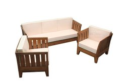Outdoor Teak Wood Sofa Set