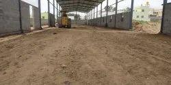 PEB Civil Works, Build Up Area / Size: 5000