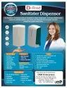 Automatic Wall Mounted Sanitizer Dispenser