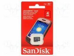 SanDisk 4 GB Memory Card Class-4