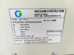 CSVP-11LS CG Make Vacuum Contactor