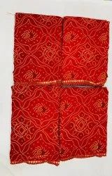 Ligalz Present Weightless Bandahni Saree With Blouse