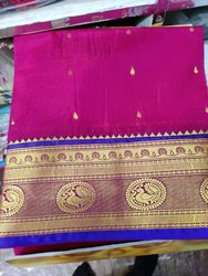 6 m (with blouse piece) Handloom Sarees