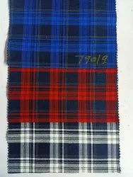 Mufti Printed Men Cotton Check Shirt, Dry clean, Size: 58 Inch Width
