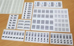 Thermal Printed Barcode Label