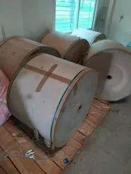 Wood Pulp Brown Kraft Paper Roll For Packaging, GSM: 80 - 120