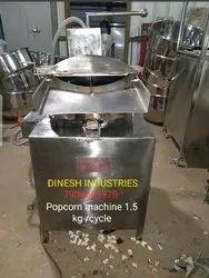 Gas Operated Popcorn Machine