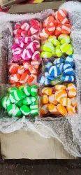 Aquarium Colour Stones, Size: 2 To 3 Inch
