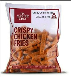 Spicy Crispy Chicken Fries, Packaging Size: 1kg