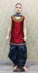 euphoria creation 58-60 Heavy Silk Patiyala Suit, For Casual Wear