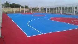 Synthetic Acrylic Sport Flooring