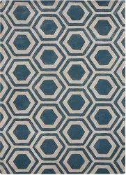 Maanvi Hand Tufted Wool Carpet, For Home, Size: 5x8 Ft