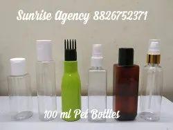 100 Ml Pet Bottles
