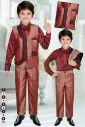 Kids fancy fourps Baba court Suit