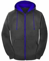 Aerobics Sports Front Zipper Hoodie Winter Jackets With Hoodies