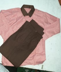 67 33 Checks Up government full sleeve shirt, Handwash