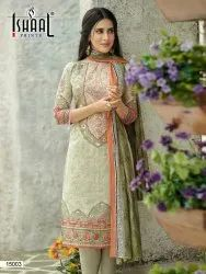 Isaal Prints Gulmohar vol 15 Lawn Collection, Size: Free