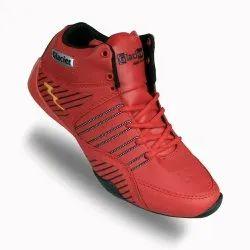 Men Red Glacier High Cut Casual Shoes, Size: 6-9,6-10 & 7-10