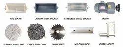 Mild Steel Bucket Elevator Parts, Model Name/ Number: Sdddsd22