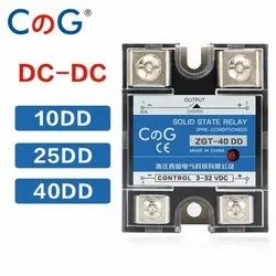 CG SSR-10DD 25DD 40DD 200A 600A SSR  3-32VDC To 220VDC 600V 10A 25A 40A DD Solid State Relay