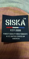 Polyester Woven Garment Label