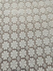 Polyester Embroidered Jacquard Fabric