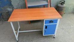 Wooden Steel Table