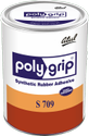 S 709 Polygrip Synthetic Rubber Adhesive, Tin Can